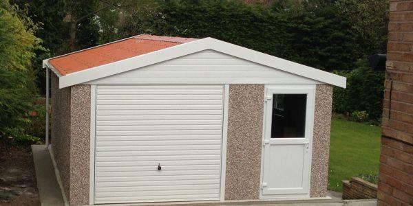 Garden Sheds Hull lidget compton | sectional concrete garages & sheds