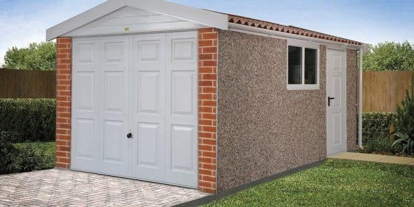 Apex15 roof concrete garages