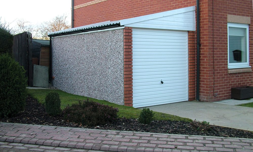 Lean To Concrete Garages | Free Quote | Lidget Compton