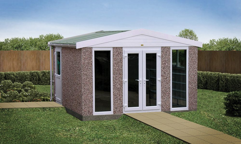 Sectional concrete garden rooms buildings lidget compton for Garden rooms uk