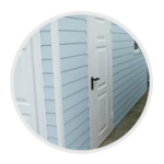 Custom garage cladding options