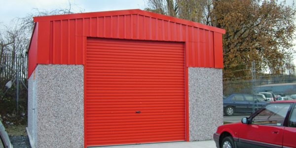 Highliner concrete garages