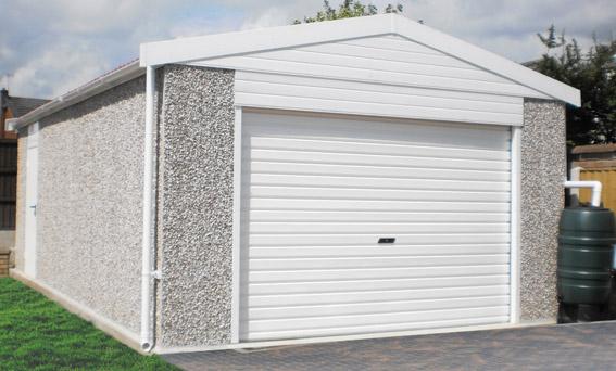 Fertiggarage beton  Product Focus | Extra High Concrete Garages | Lidget Compton