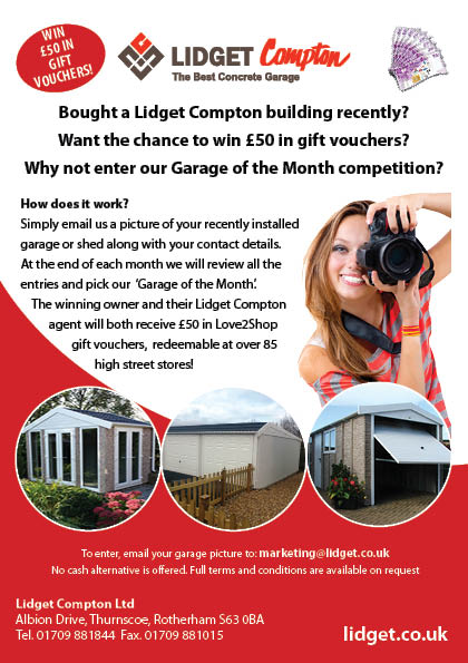 Garage of the month competition