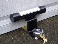 Garage defender lock