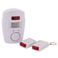 Garage alarm with pir sensor