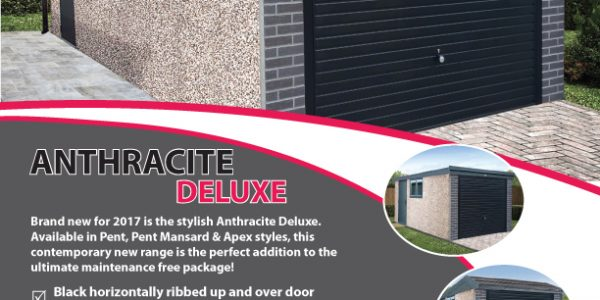 Anthracite Deluxe concrete garage