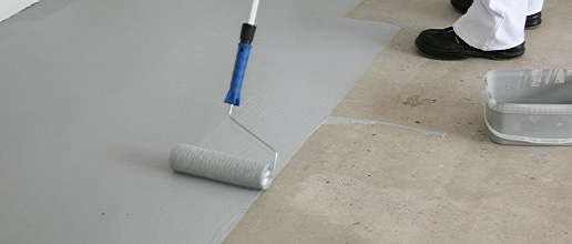 How to paint concrete garage floors lidget compton for What to use to clean cement garage floor