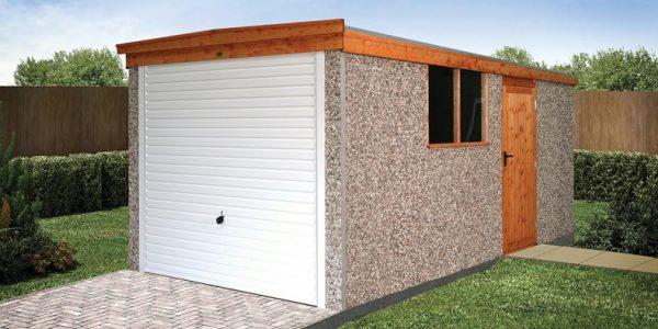 Sectional Concrete Garages Sheds, Modular Garage Panels