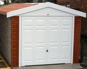 Apex15 brick concrete garage