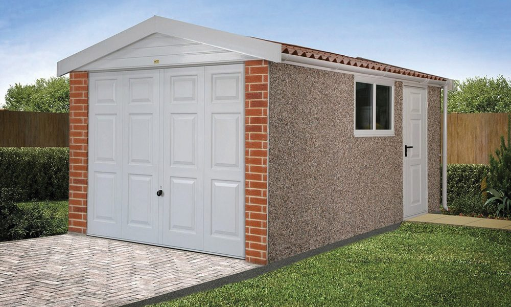Apex15 roof concrete garages
