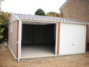 Apex90 concrete garage
