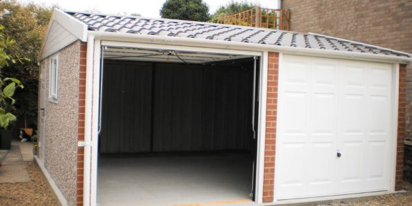 Apex90 concrete garage