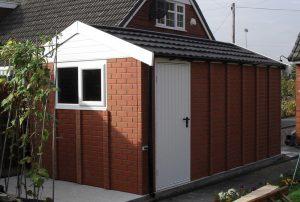 Lidget Apex20 brick concrete garage