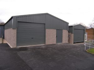 Lidget highliner concrete garage