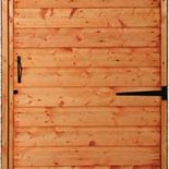 Timber door garage options