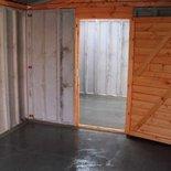 Lidget garage partition wall
