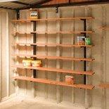 Lidget garage shelf stackers