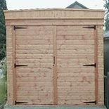 Side hung timber doors
