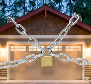 Concrete garage security