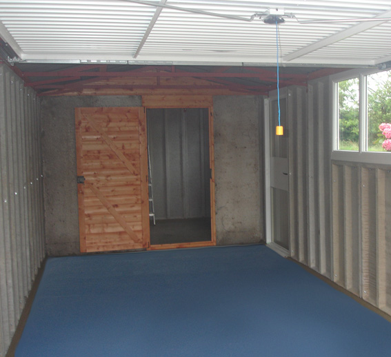flooring garage kit organized basement home grey painted armorpoxy interior floor paint in coating armorclad