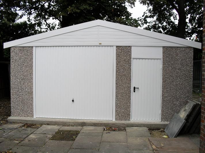 Lidget Compton  Sectional Concrete Garages  Sheds