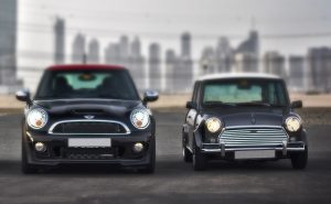Old versus new mini