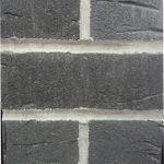 Anthracite Brick Front Post